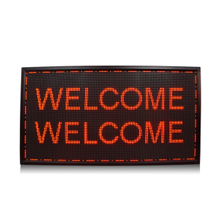 Aluminum Frame Indoor P4.75 Single Red APP Programmable Led Display