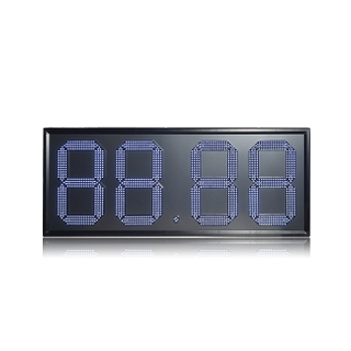Morocco Outdoor 18'' Large Single White 88.88 Led Gas Price Sign