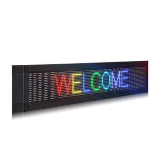 Professional Wholesale Indoor P10 RGB 4x1 Electronic Scrolling Message Board