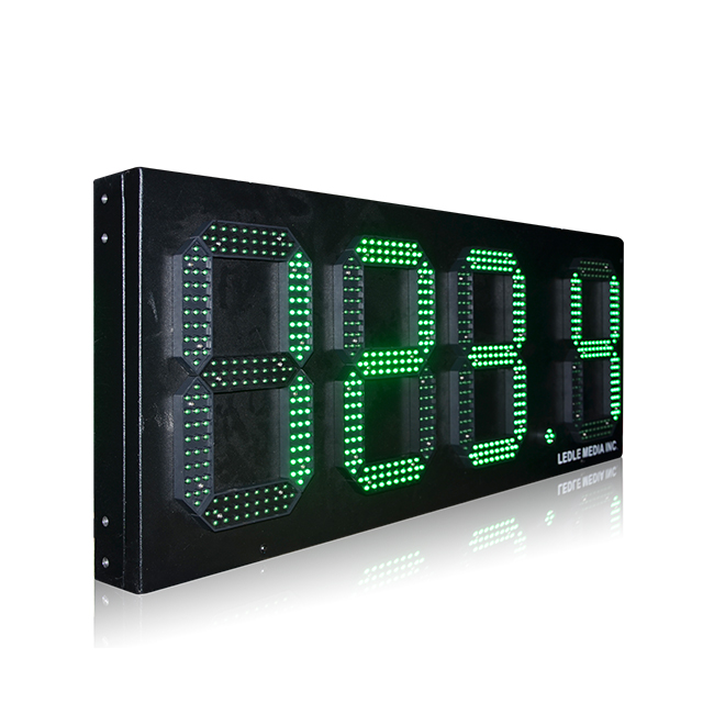 Outdoor Waterproof 12'' 7 Segment Single Green 888.8 Led Display Panel Price