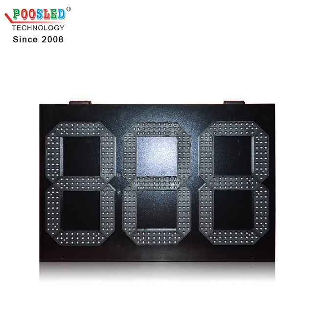 Top Quality 10 Inch 3 Digits 888 Red Outdoor Led Display for Countdown Timer