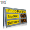 Manufacturer 6 Inch Yellow 8.8.8.8 PCB White Cabinet Digital Gas Price Sign