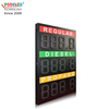 Special Design 12 Inch Red&Green&Amber 3 Lines 888.8 Gas Station Led Sign