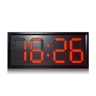 Popular 10 Inch Outdoor Red 88:88 Led Digital Clock