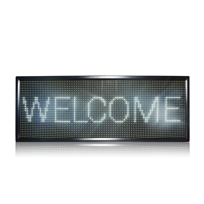 New Arrival Double Side Outdoor Waterproof P10 White Led Display
