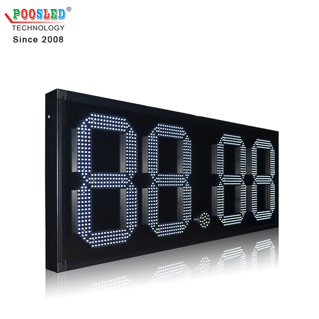 Mexico Waterproof 18'' Wireless Control 88.88 Aluminum Led Oil Price Display Screen