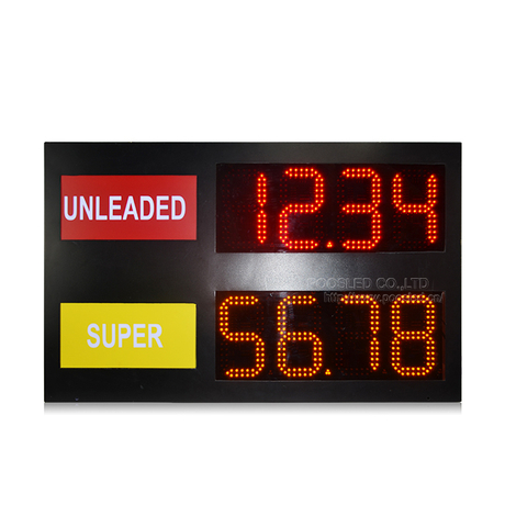 Outdoor LED Price Sign 8'' PCB 88.88 for Gas Station
