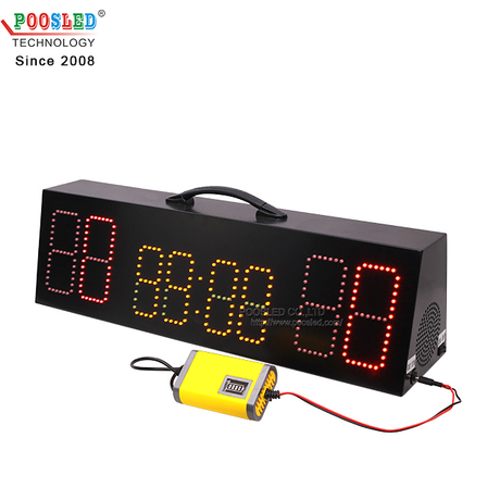 New Arrival 4.0'' Portable Led Basketball Electronic Scoreboard