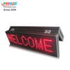 Good Price P10 Single Red Semi-outdoor Led Advertising Display