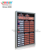 Aluminum Frame LED Exchange Rate Board With LED Scrolling Sign