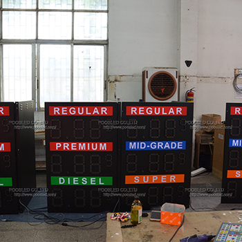 Factory Manufacture Gas Station Led Display