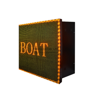 Outdoor Waterproof P10 Yellow 34X9 Led Panel Display LED outside Signs